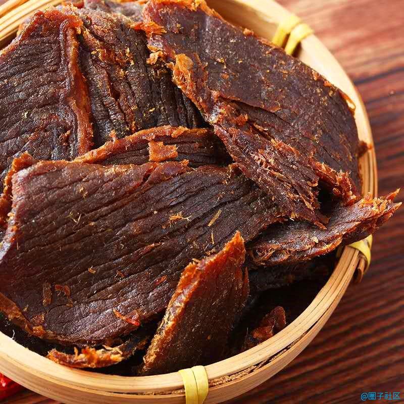 牛肉干内蒙古风味牛肉片250克/500克...