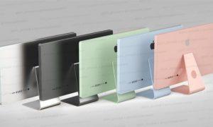 M2处理器加持:新款iMac曝光 体积小巧多种颜色选择